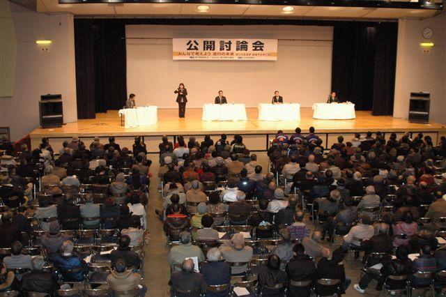 滑川市長選公開討論会=260126 018